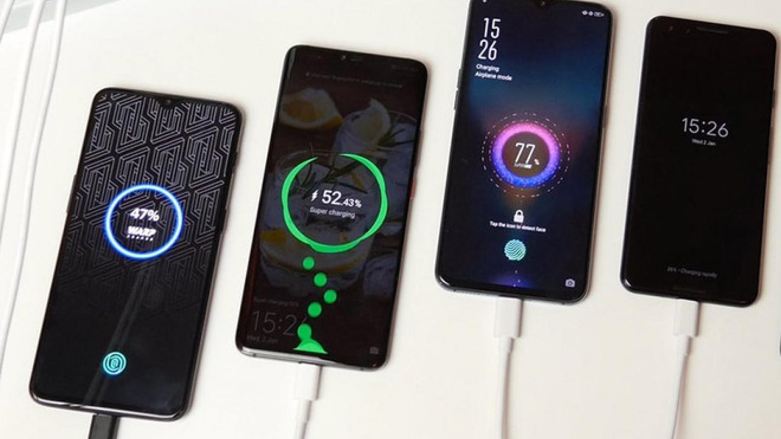2021 - năm của smartphone sạc siêu nhanh 100W