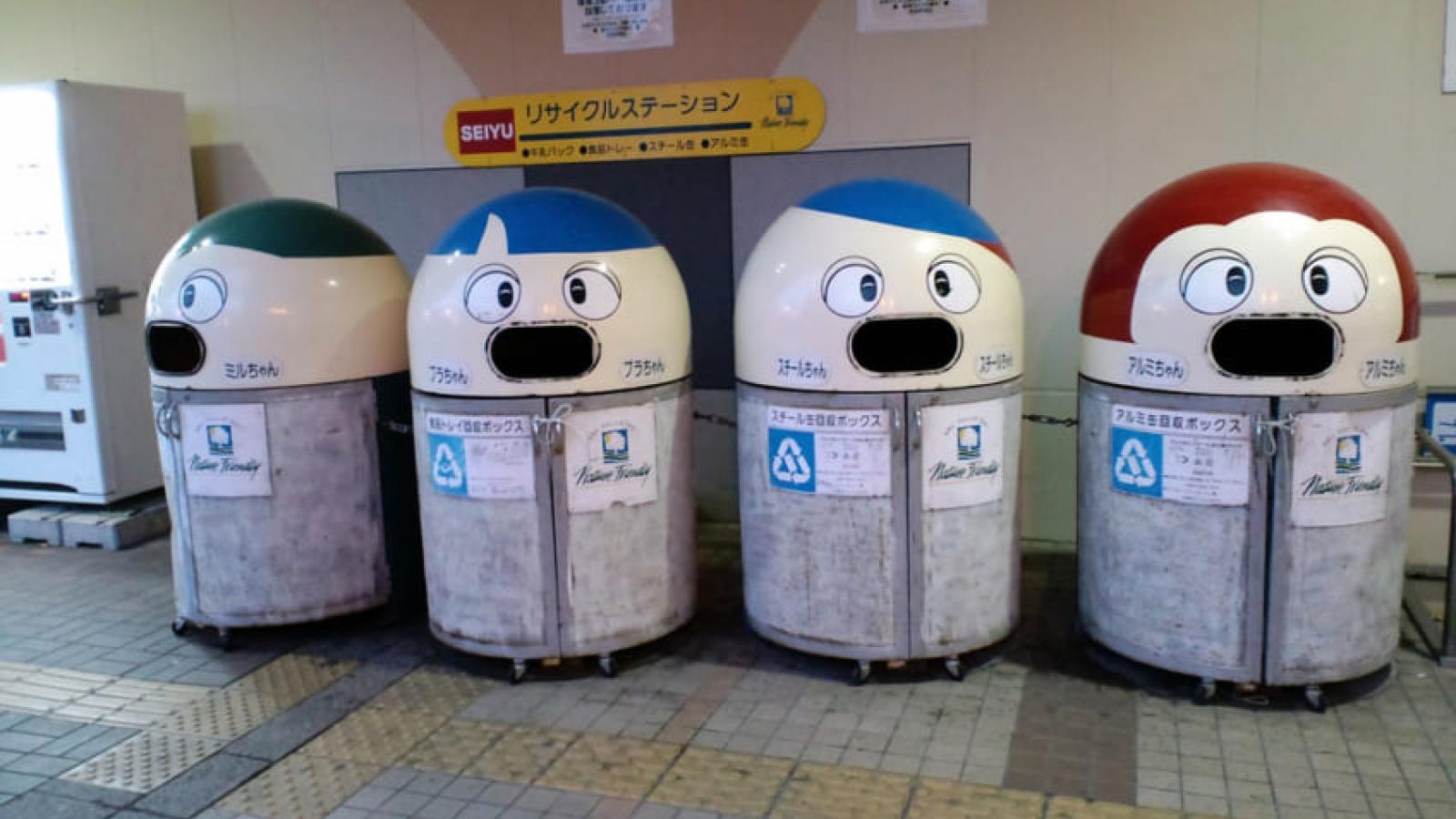 Văn hóa phân loại rác thải sinh hoạt của người Nhật