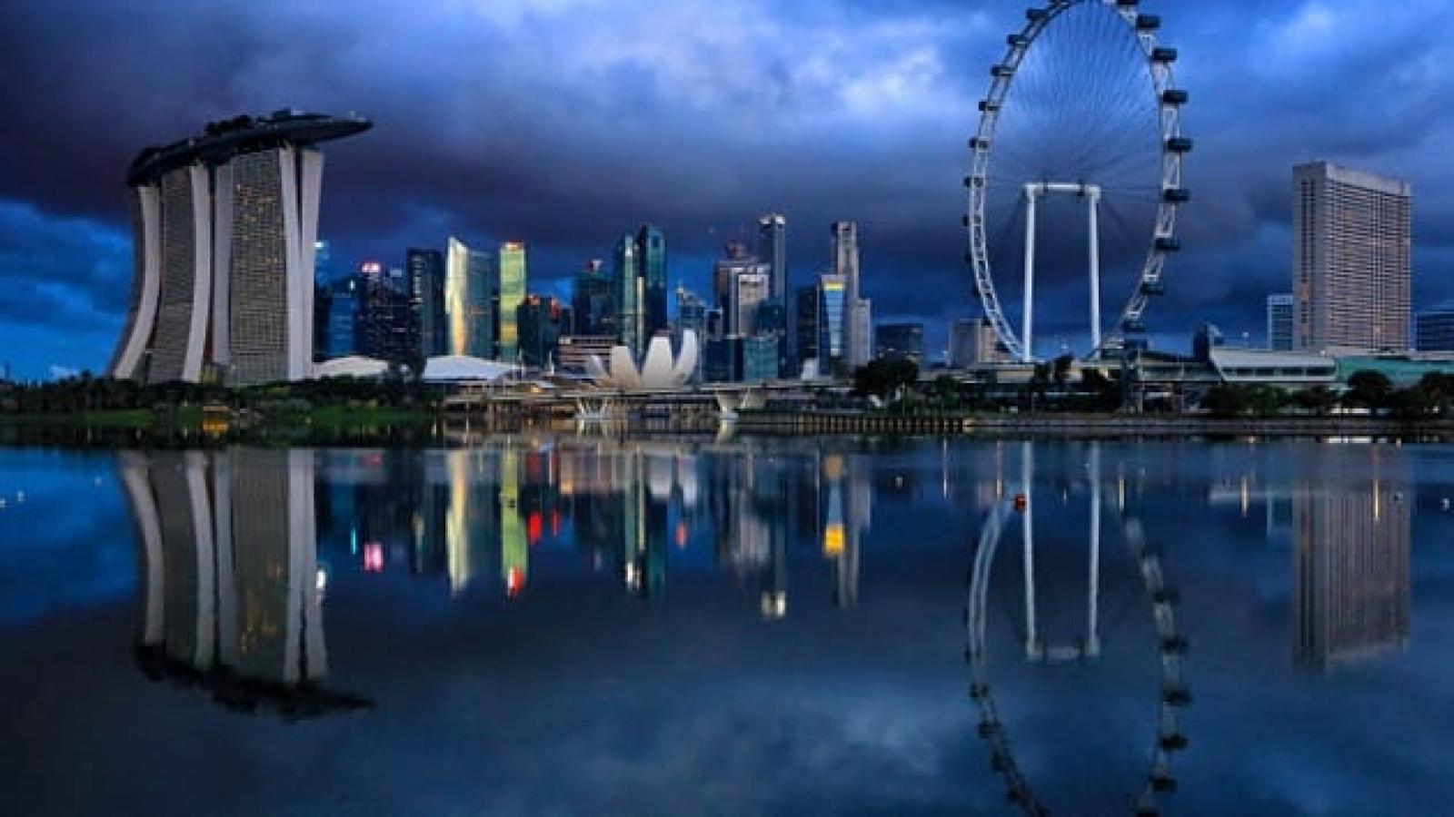 GDP của Singapore giảm kỷ lục 5,8%