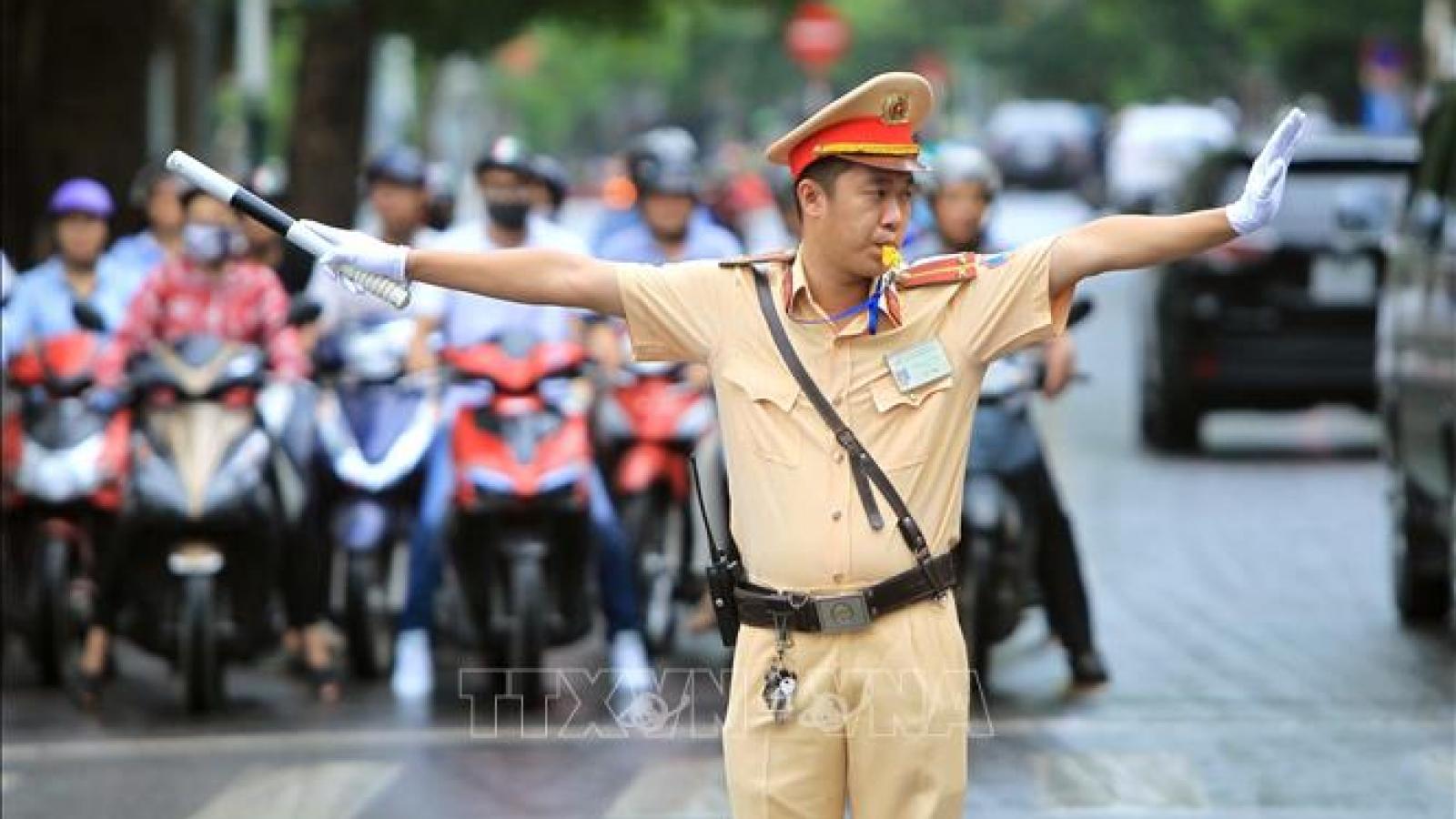 Chi tiết phân luồng giao thông tại Hà Nội phục vụ Đại hội XIII của Đảng