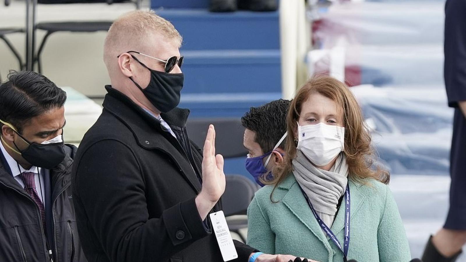 Hình ảnh buổi tổng duyệt lễ nhậm chức của Tổng thống đắc cử Joe Biden