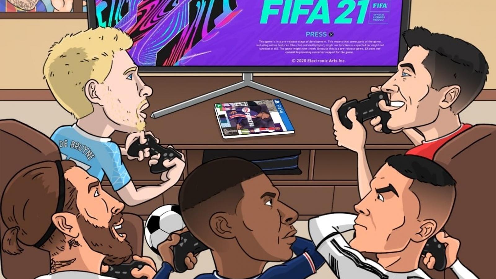 Biếm họa 24h: Messi không có tên trong Đội hình tiêu biểu 2020 của FIFA