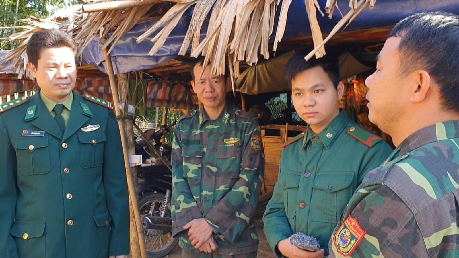 Bộ đội biên phòng thực hiện nhiệm vụ kép trong thời gian Đại hội Đảng