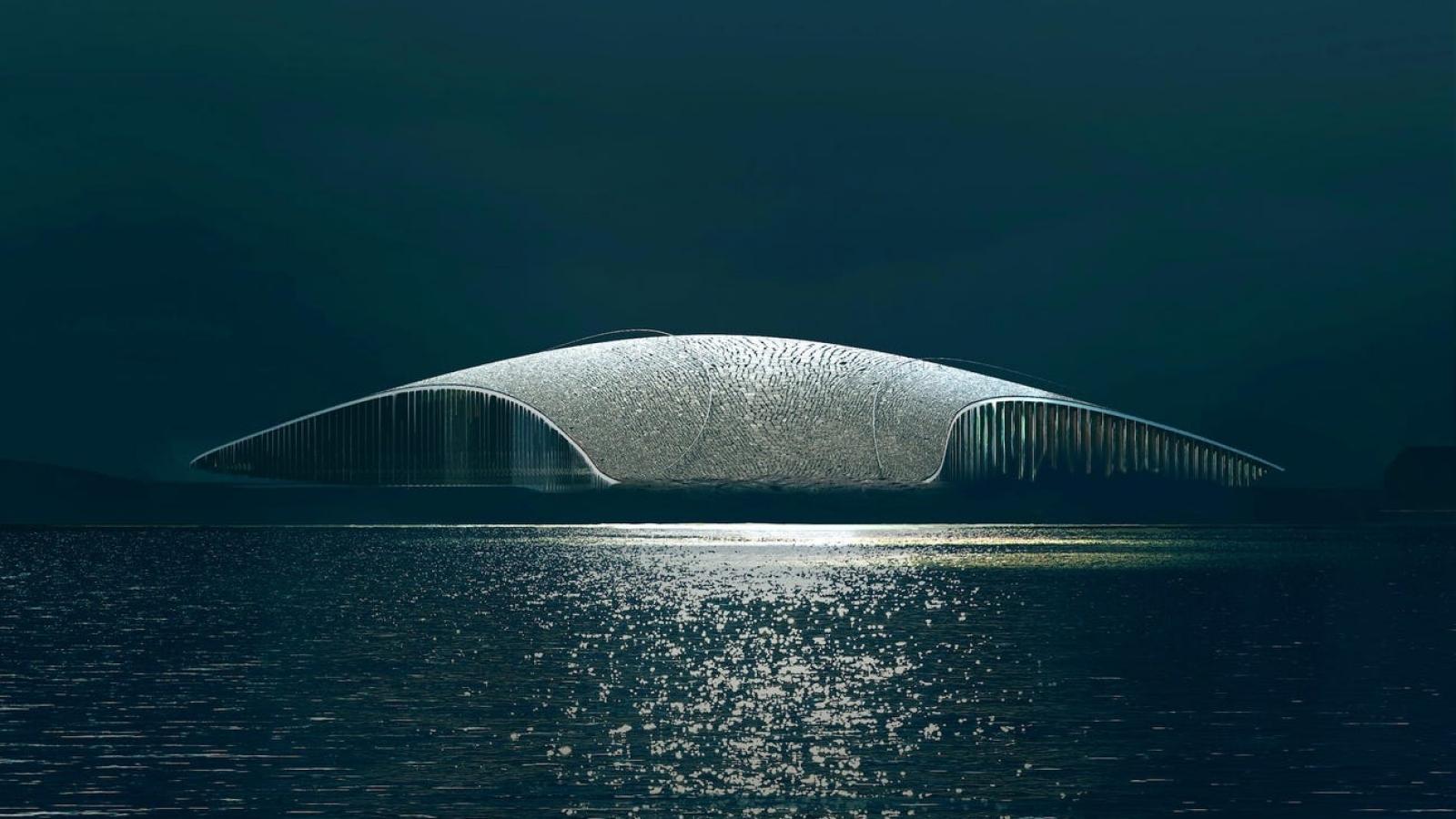 Bảo tàng cá voi tuyệt đẹp tại Na Uy