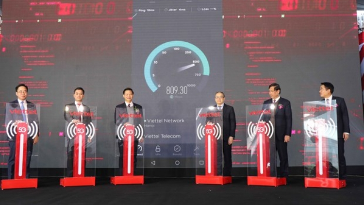 First industrial park in Vietnam gains access to 5G network