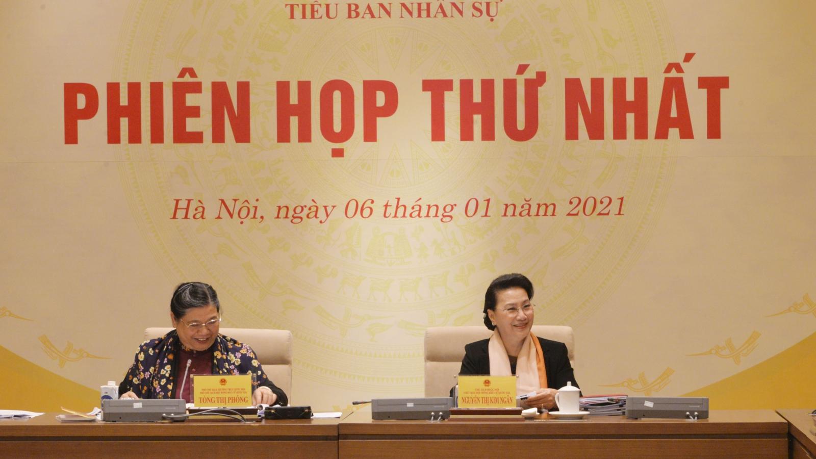 Hội đồng bầu cử Quốc gia: Tiểu ban nhân sự họp phiên thứ nhất