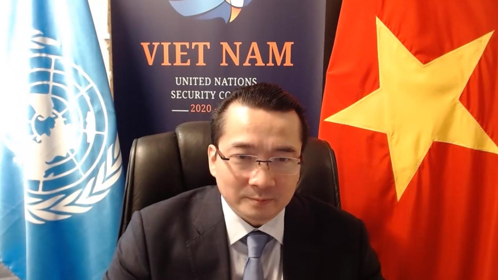 Việt Nam chủ trì phiên họp của Hội đồng Bảo an LHQ liên quan tới vấn đề Nam Sudan