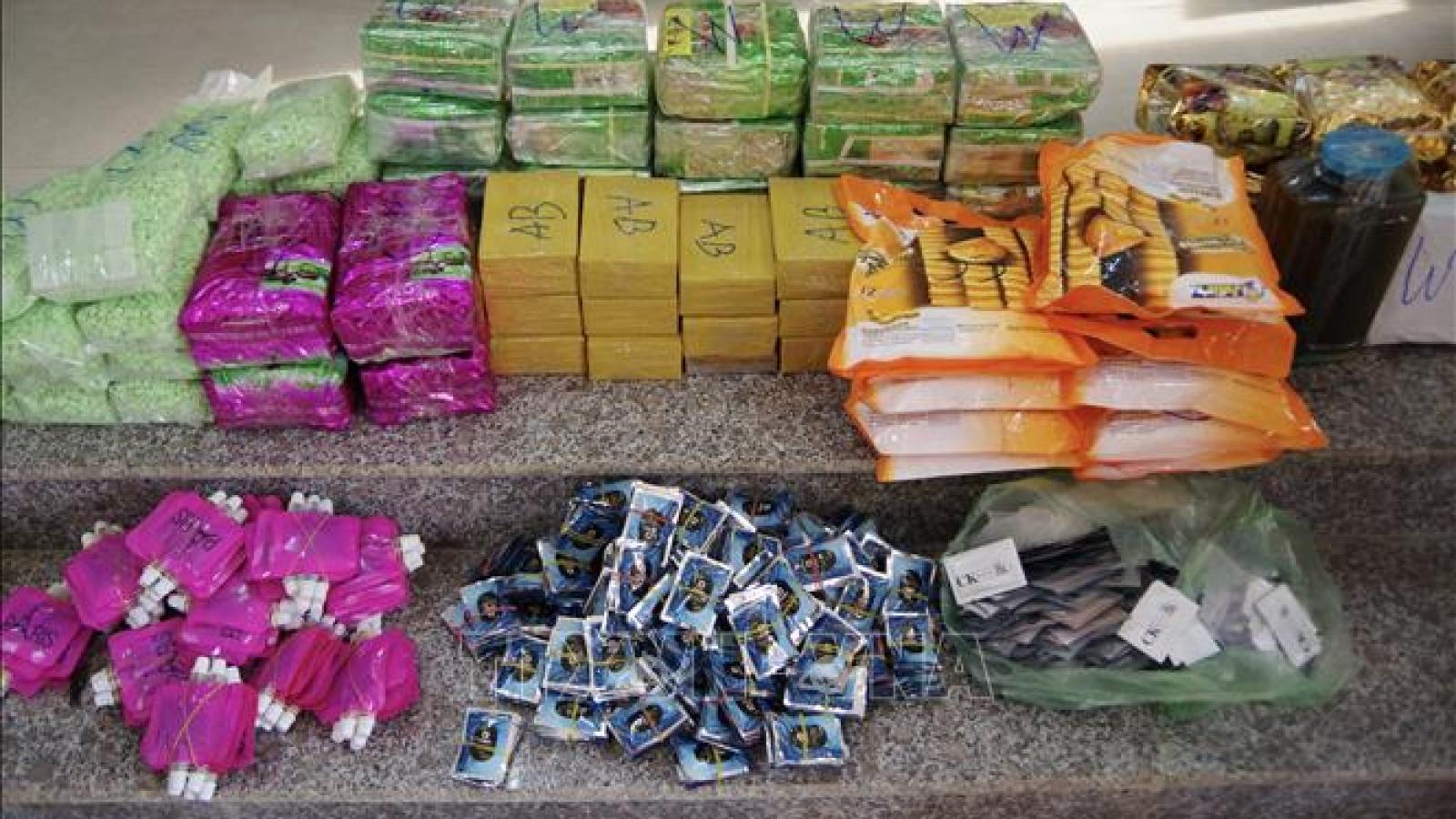 Nóng 24h: Bắt 3 đối tượng vận chuyển gần 90kg ma túy vào Việt Nam