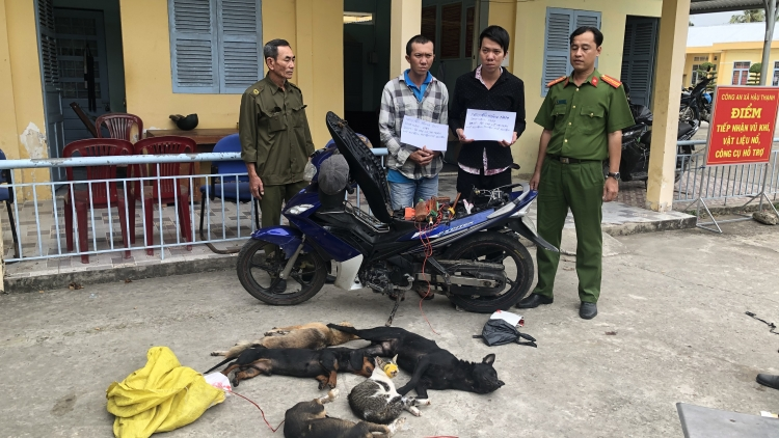 Bắt quả tang 2 đối tượng trộm chó tại Sóc Trăng