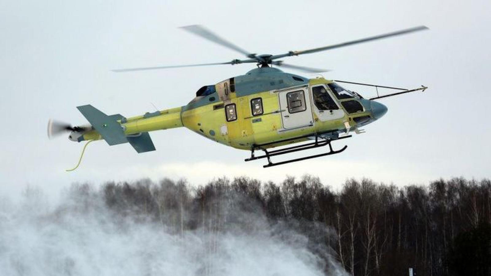 Trực thăng Ansat-M của Nga thực hiện chuyến bay đầu tiên
