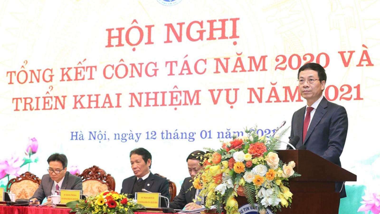 Bộ trưởng Nguyễn Mạnh Hùng: Ngành TT&TT đứng trước cơ may hiếm có định vị lại mình
