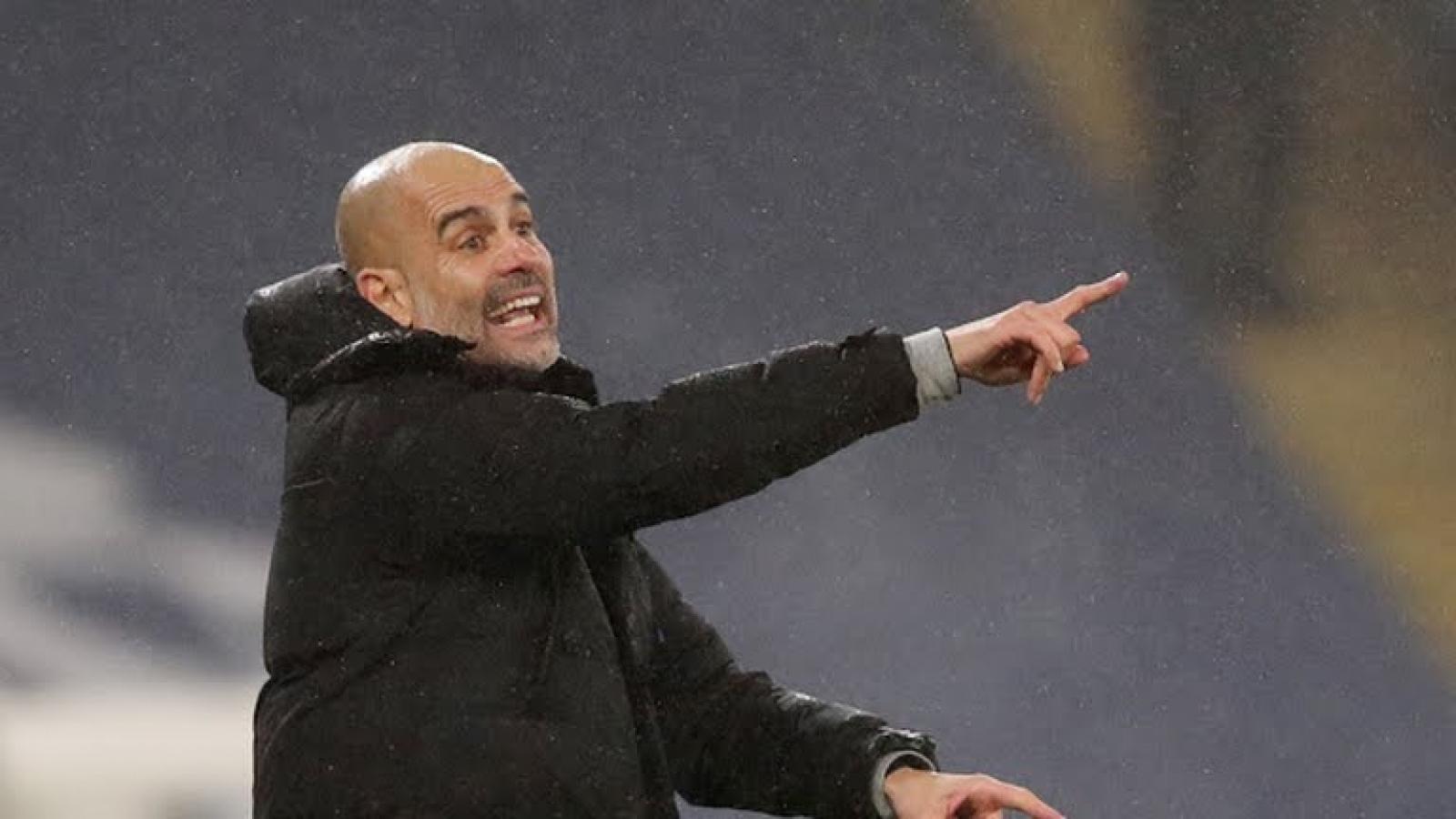 """Bảng xếp hạng Ngoại hạng Anh mới nhất: Man City khiến MU """"nóng gáy"""", buồn cho Mourinho"""