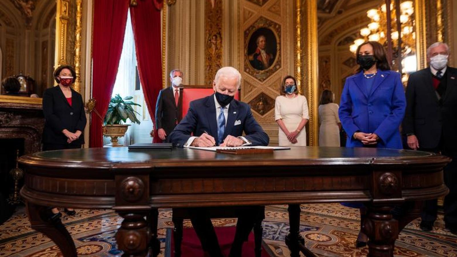 Lãnh đạo các nước chúc mừng tân Tổng thống Mỹ Biden sau lễ nhậm chức