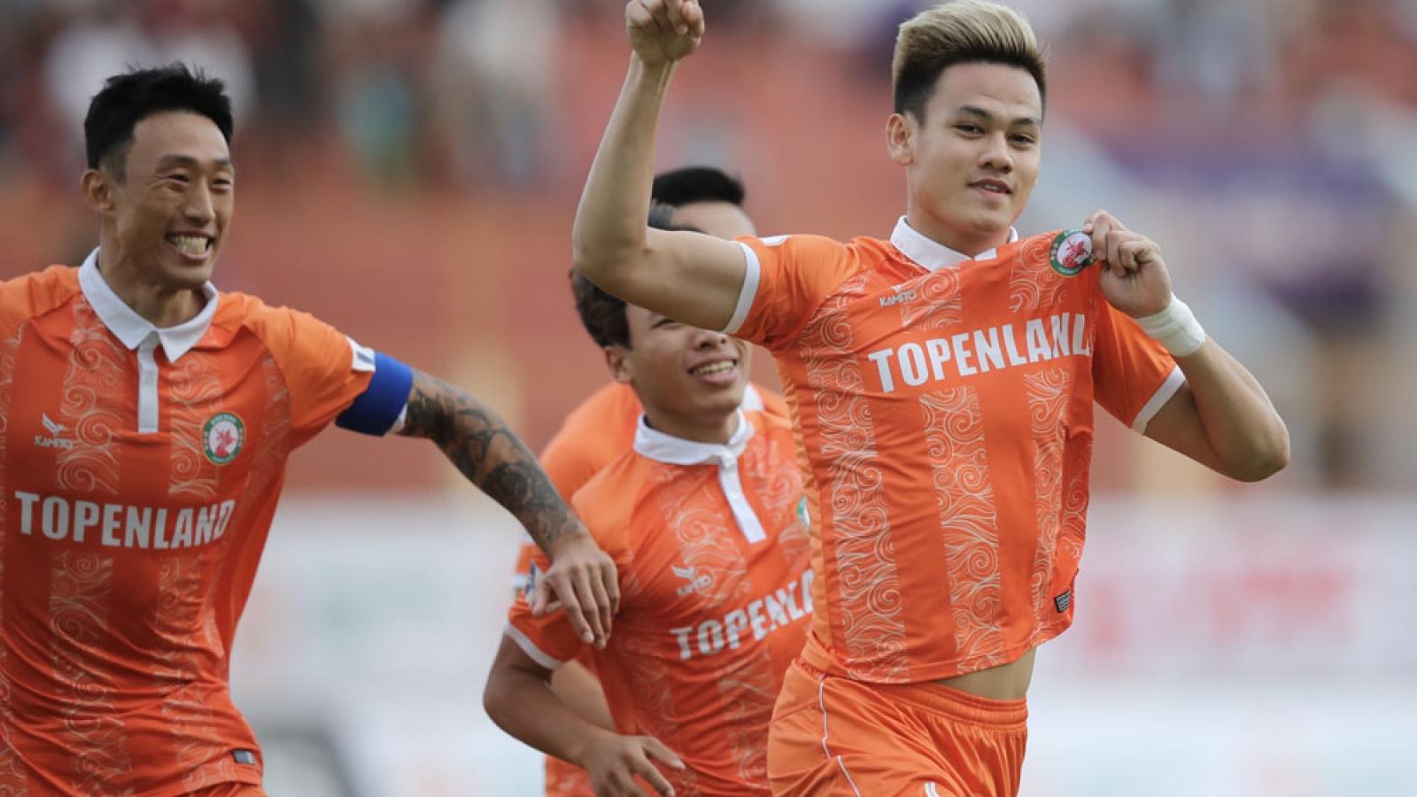 Vì sao Sài Gòn FC gục ngã trước tân binh Bình Định?