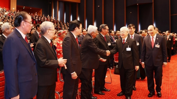 Foreign congratulations extended to 13th National Party Congress
