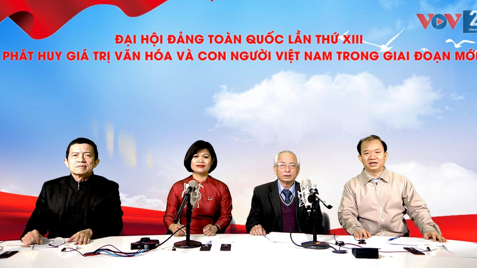 Phát huy giá trị văn hóa và con người Việt Nam trong giai đoạn mới