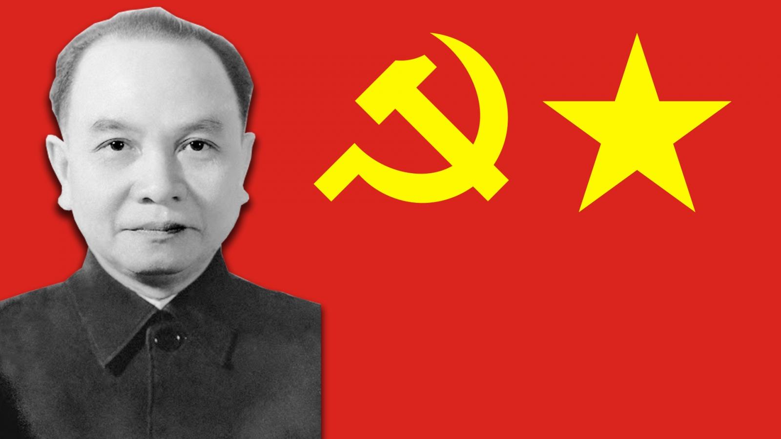 Tổng Bí thư Trường Chinh - chiến sĩ cộng sản mẫu mực