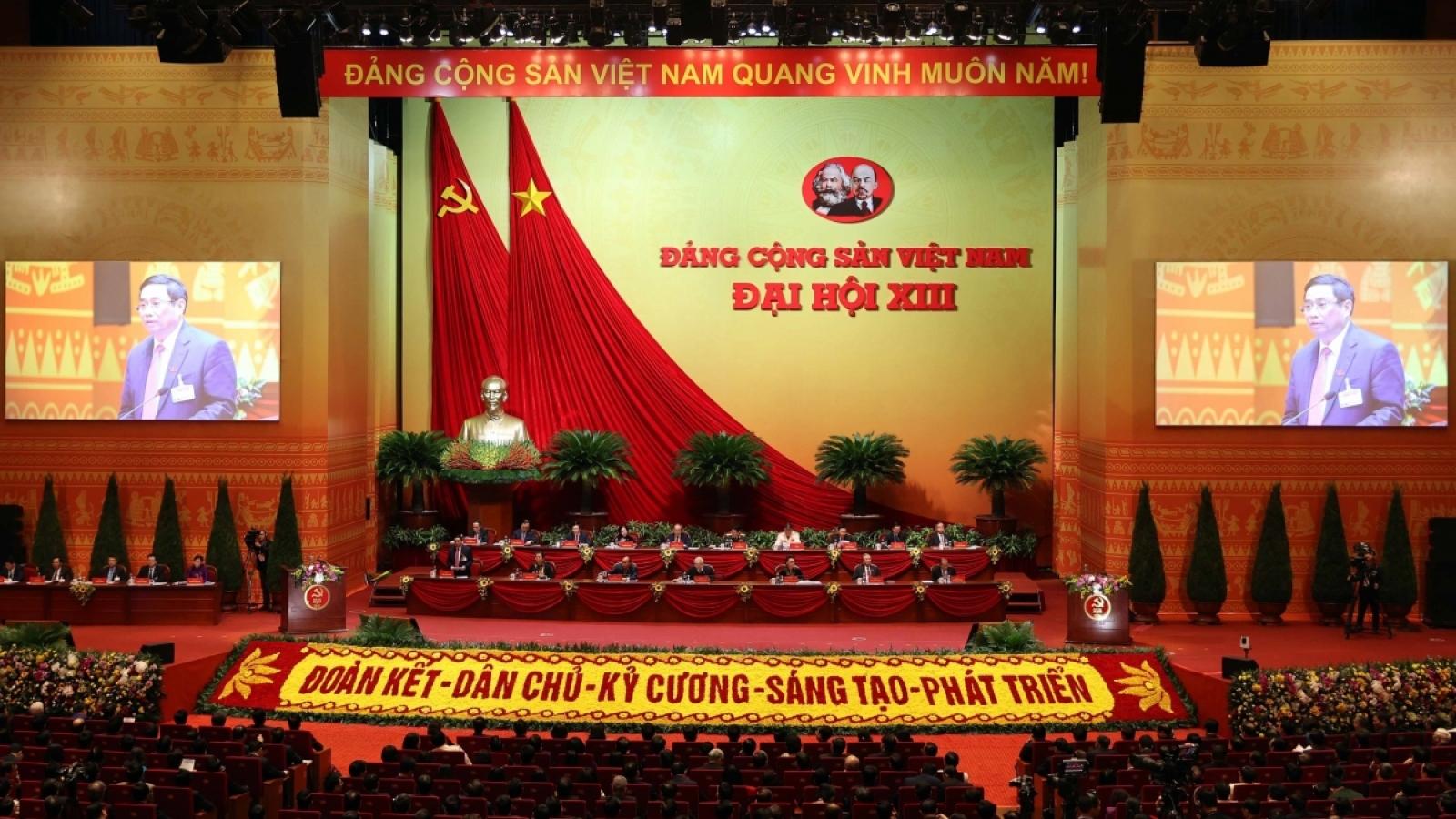 Bạn bè quốc tế tiếp tục gửi điện mừng và đánh giá cao ĐCS Việt Nam