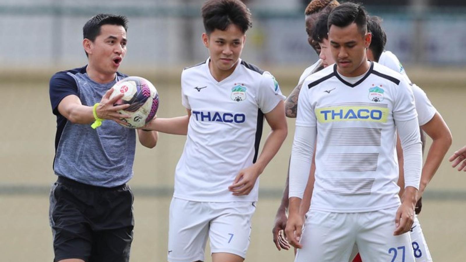 Lịch thi đấu HAGL ở giai đoạn I V-League 2021