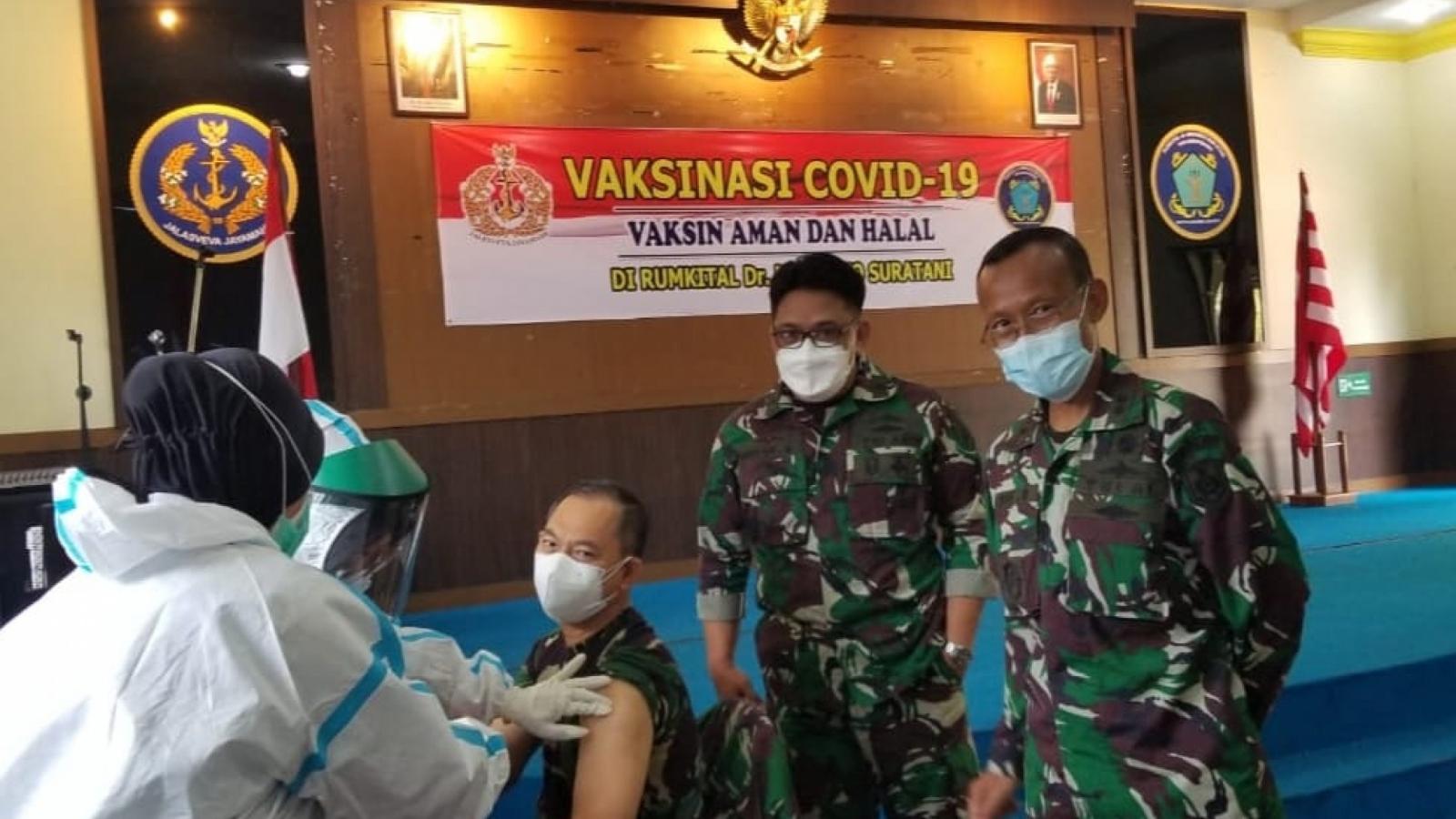Indonesia đã tiêm vaccine Covid-19 cho 179.000 người