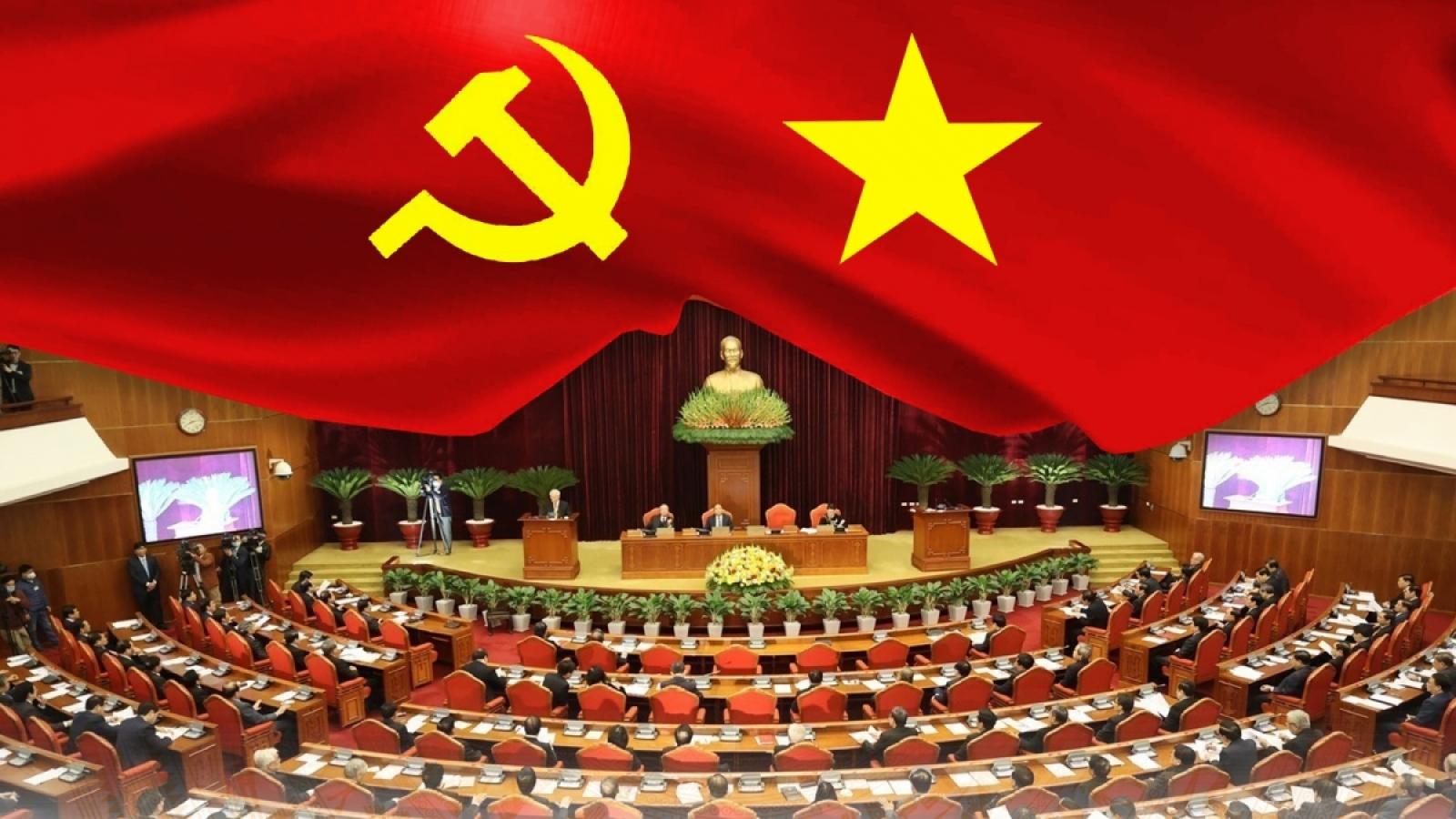Lãnh đạo Đảng Cộng sản Liên bang Nga chúc mừng Đại hội XIII