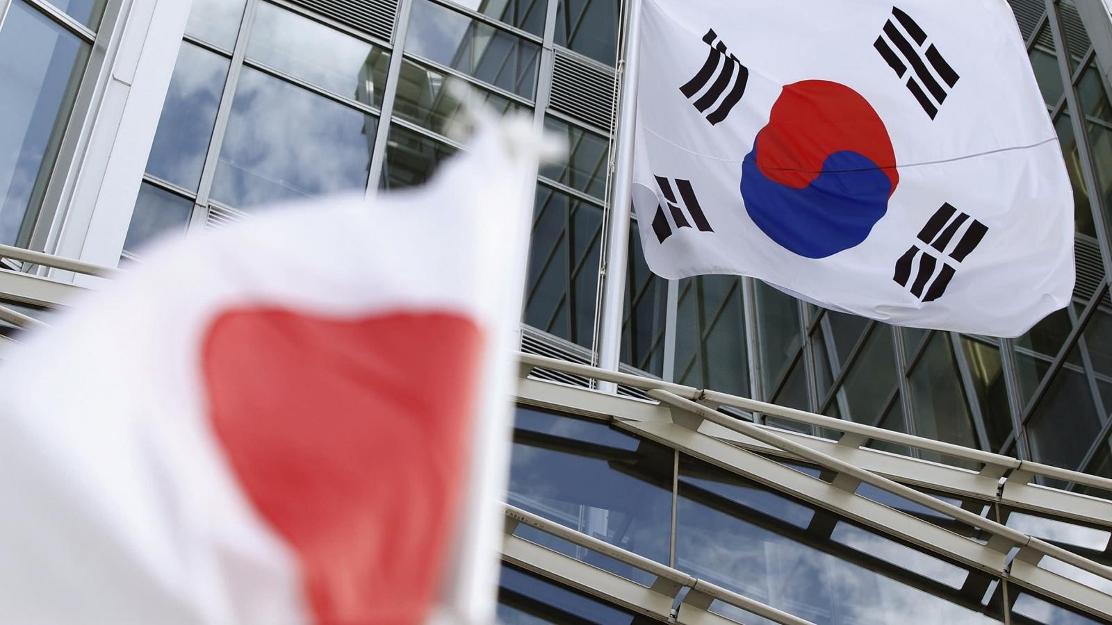 Nhật Bản và Hàn Quốc tiếp tục căng thẳng về vấn đề lịch sử