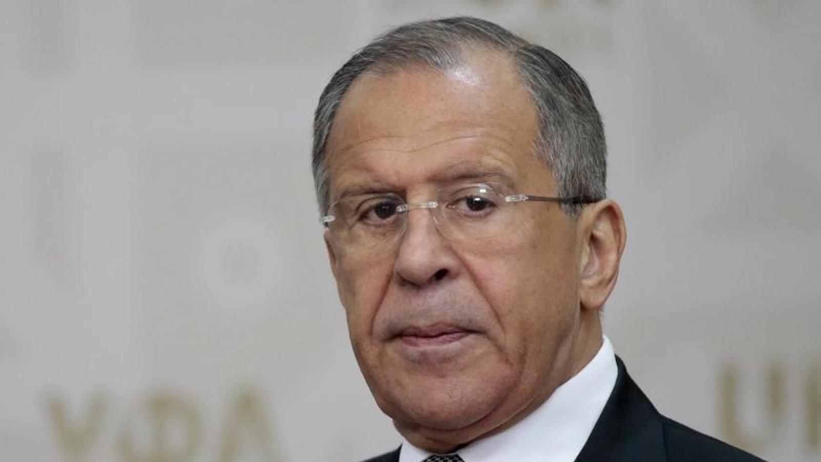 Ngoại trưởng Nga: Triều Tiên chưa có động thái gây leo thang căng thẳng
