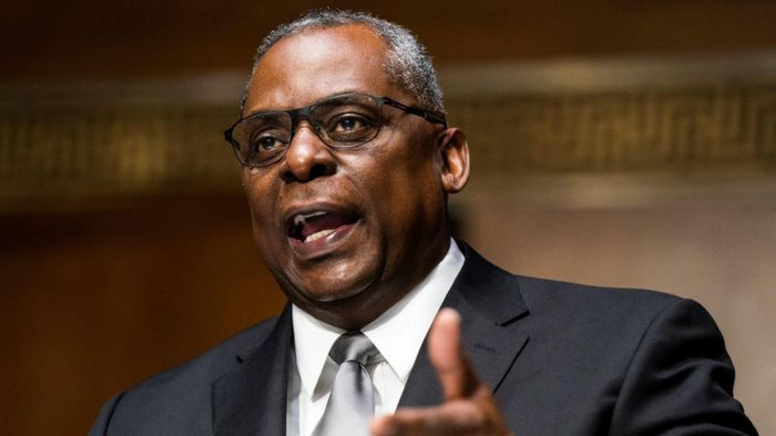 Mỹ có Bộ trưởng Quốc phòng gốc Phi đầu tiên trong lịch sử