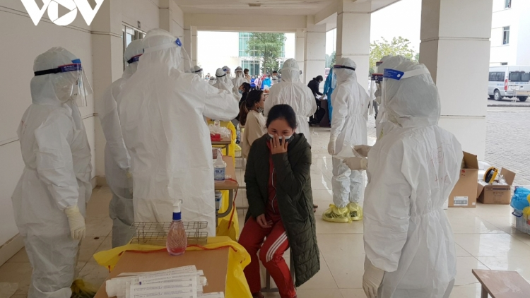 Over 2,400 samples test negative for COVID-19 in Quang Ninh
