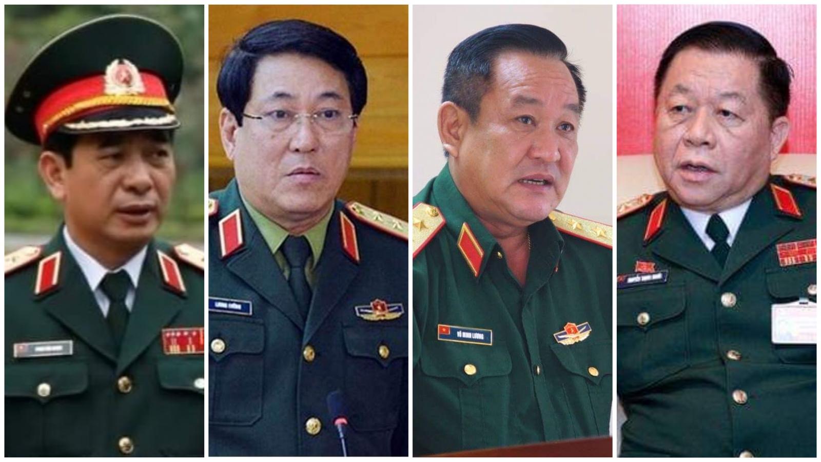 23 lãnh đạo thuộc Bộ Quốc phòng trúng cử Ban Chấp hành Trung ương Đảng khóa XIII
