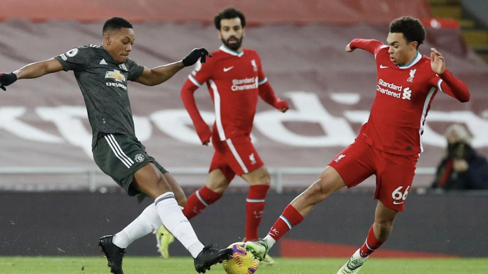 Trực tiếp Liverpool 0 - 0 MU: Quỷ đỏ thất thế