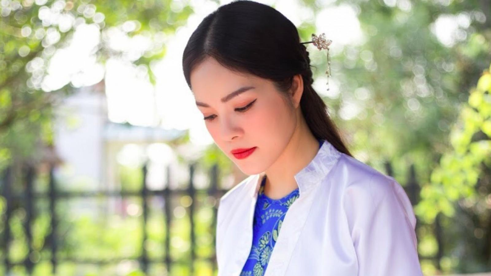 Dương Cẩm Lynh kể chuyện đóng 2 vai cùng một lúc trong phim mới