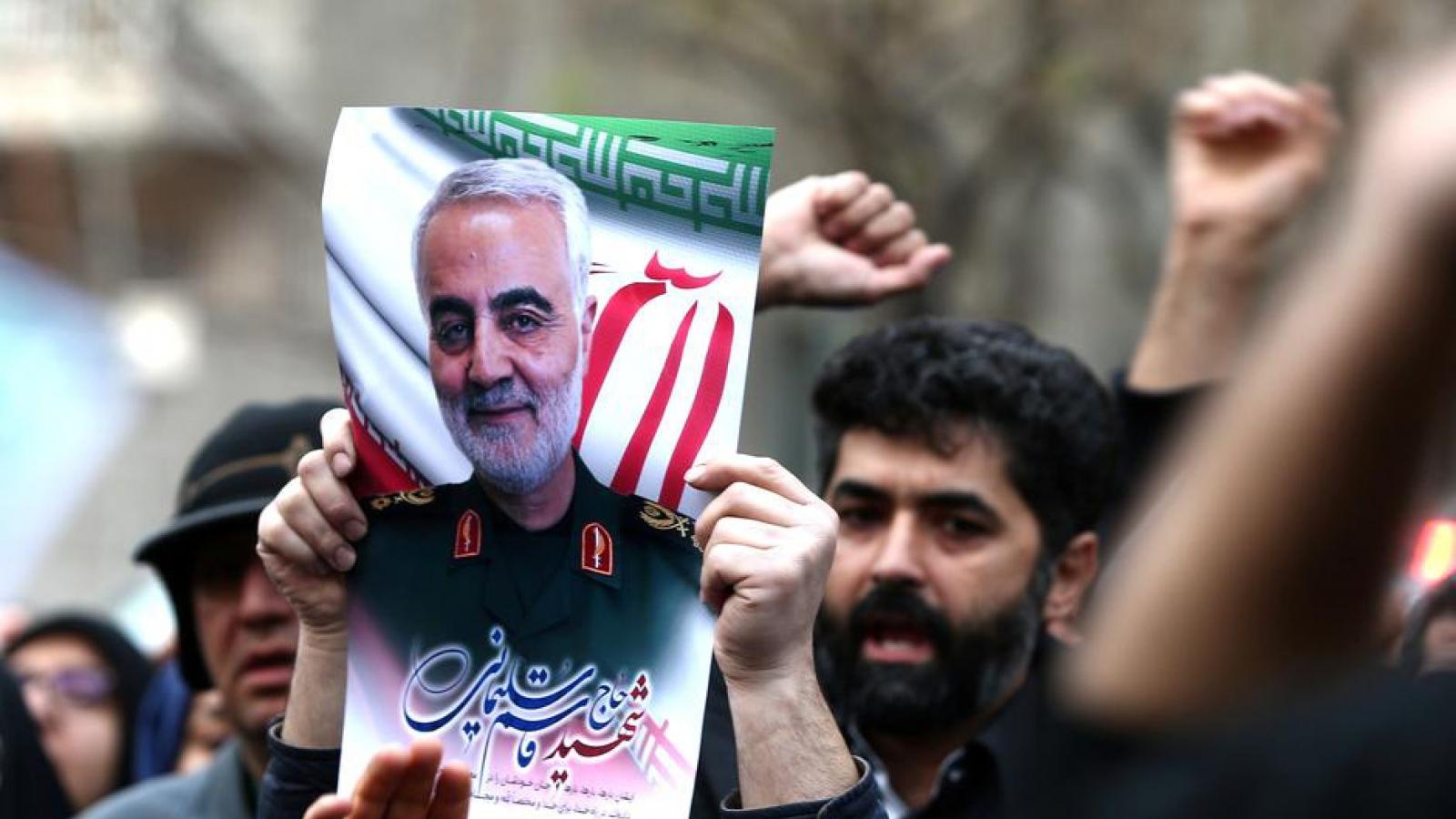 """1 năm ngày mất Tướng Iran Soleimani: Trung Đông lo ngại """"kịch bản xấu"""""""
