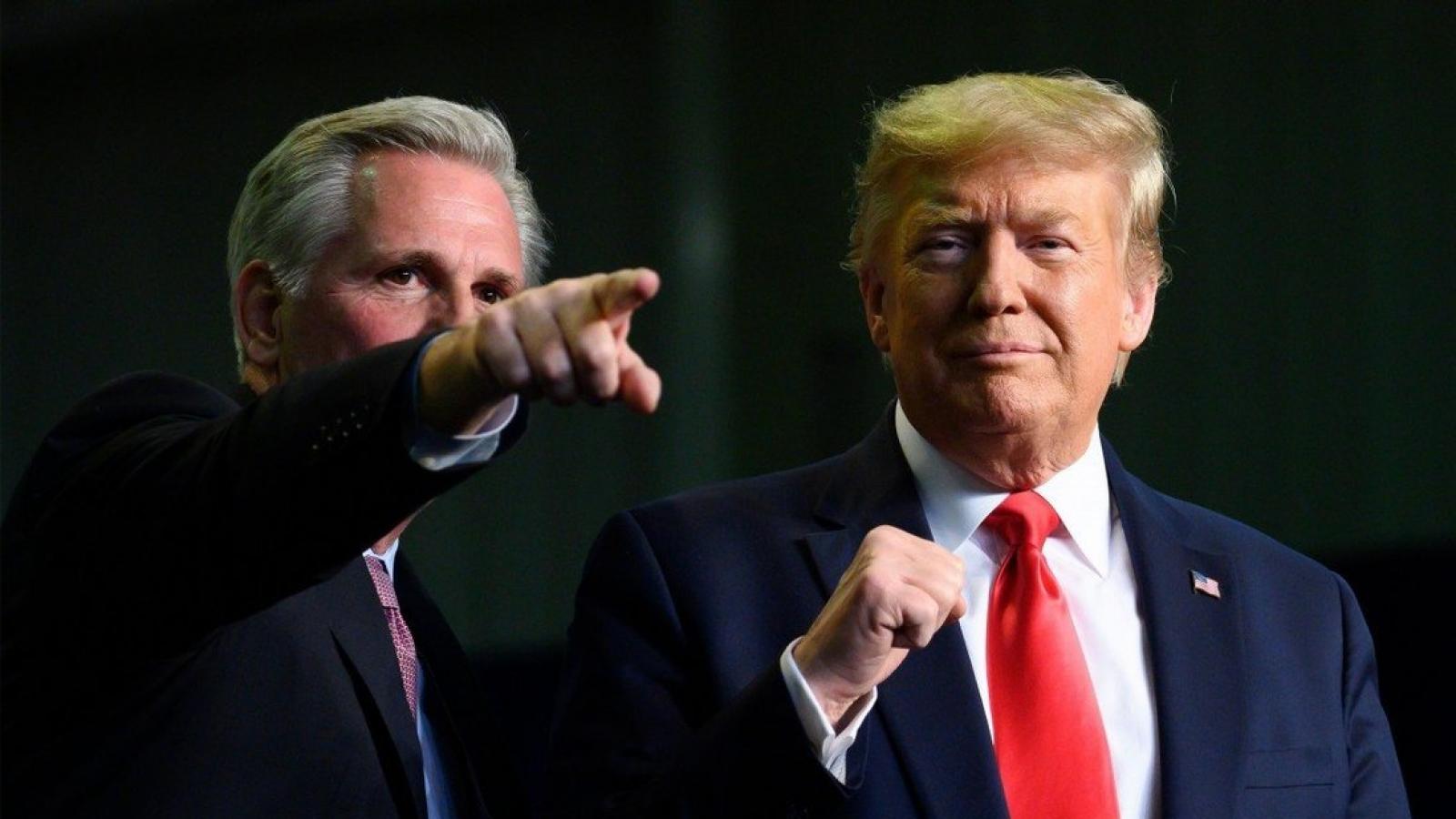 """""""Ảnh hưởng mạnh chưa từng thấy"""", Trump hứa sẽ giúp đảng Cộng hòa giành lại Hạ viện"""