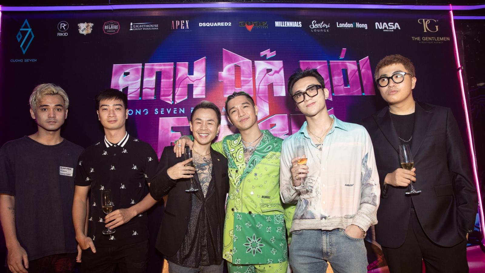 """Binz, Soobin chúc mừng Cường Seven tái xuất với MV """"Anh đã nói với em rồi"""""""