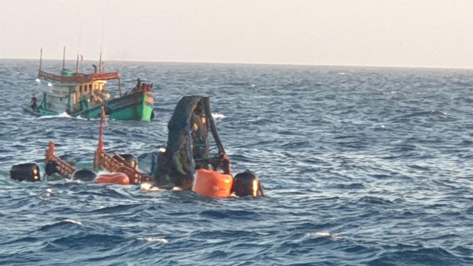 Tìm thấy 1 thi thể ngư dân tàu cá bị nạn trên biển Côn Đảo