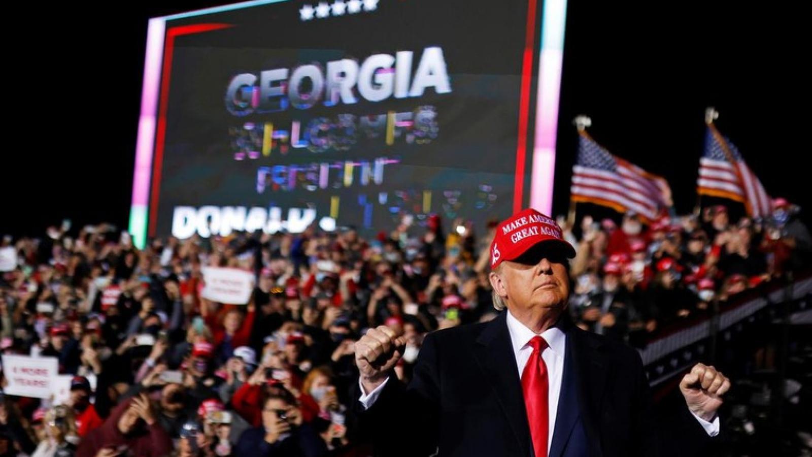 Tổng thống Trump: Không đời nào chúng tôi thua ở Georgia