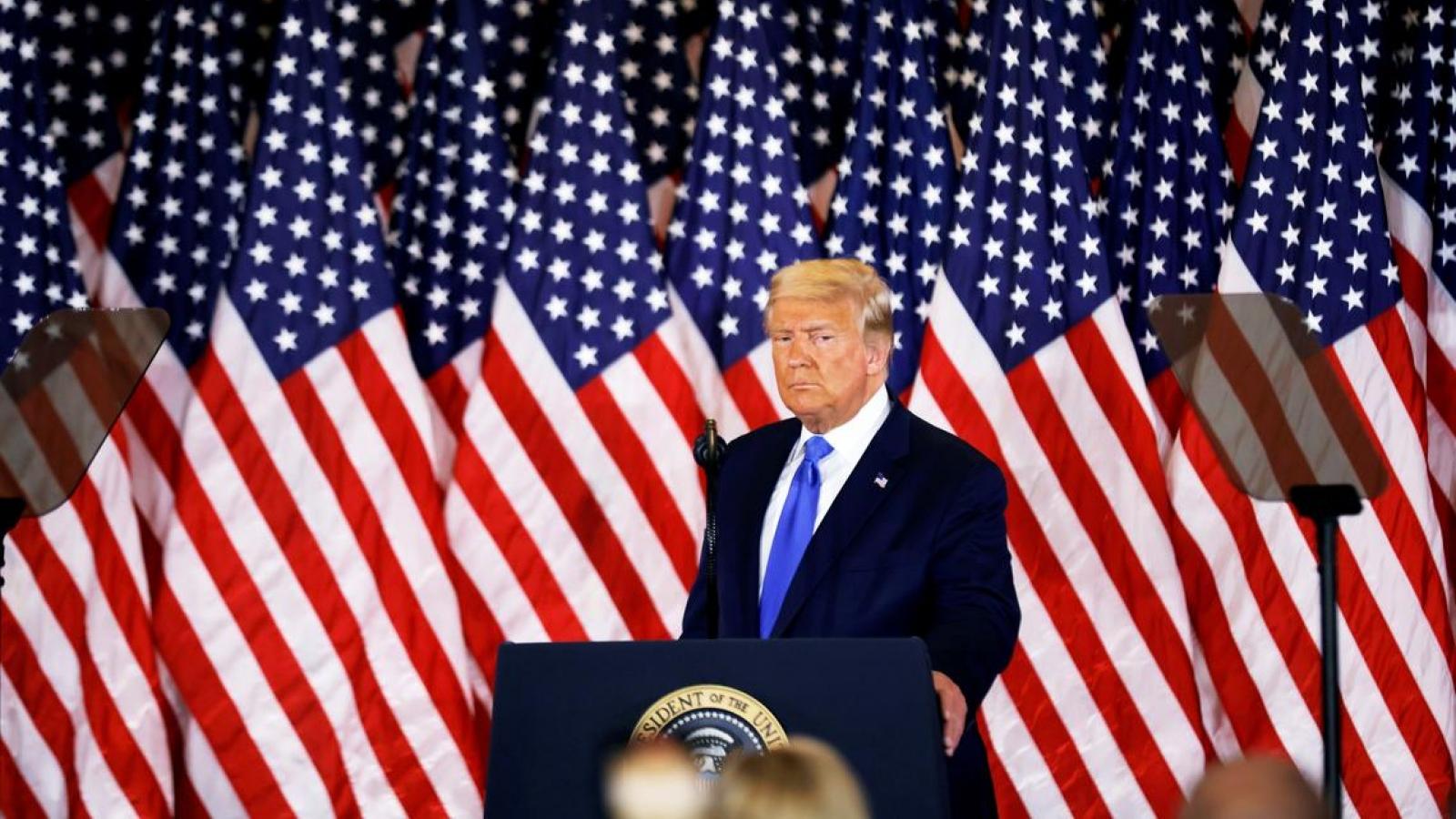 Trump sẽ phát biểu tại cuộc biểu tình ủng hộ đảo chiều bầu cử ở Washington