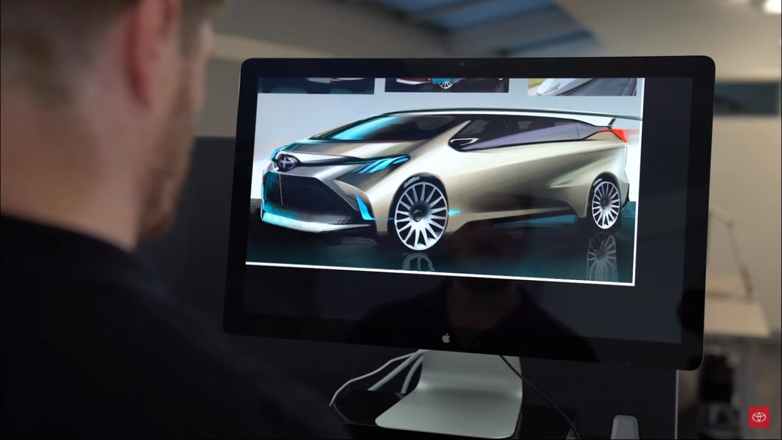 Thiết kế của Toyota Sienna 2021 lấy cảm hứng từ những chiếc tàu cao tốc Nhật Bản