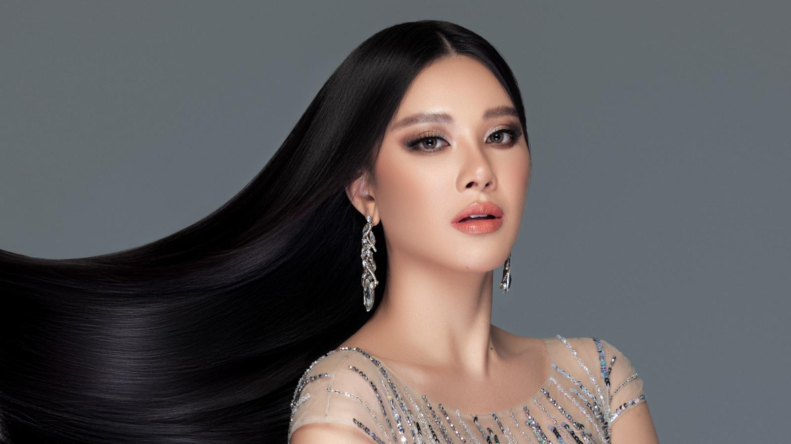 Á hậu Kim Duyên khoe nhan sắc cực phẩm trong bộ ảnh đầu năm mới