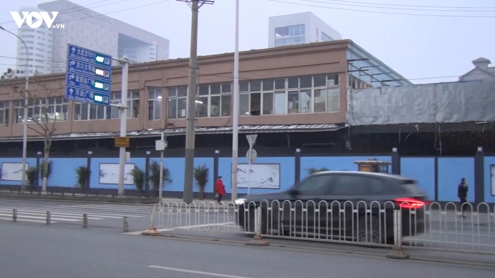 Chợ hải sản Hoa Nam ở Vũ Hán tròn 1 năm sau khi đóng cửa