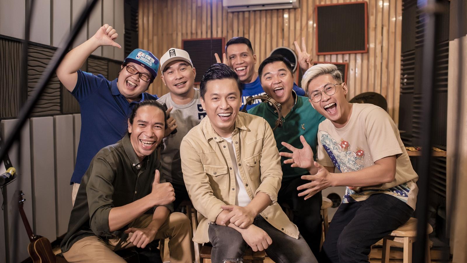 """Lam Trường, Phương Vy tái ngộ ban nhạc MTV trong """"Âm nhạc không giới hạn"""""""