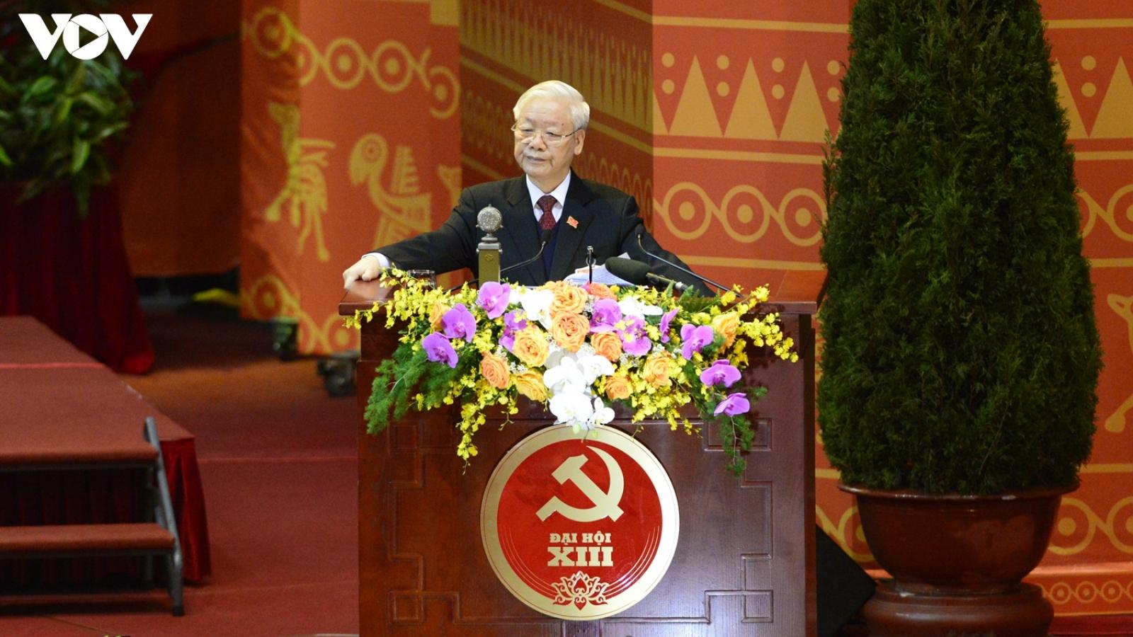 Tổng Bí thư, Chủ tịch nước chỉ ra 5 bài học từ nhiệm kỳ trước tại Đại hội XIII của Đảng
