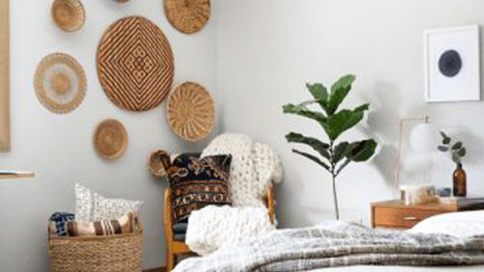 5 ý tưởng trang trí bằng giỏ đan lát giúp nhà thêm xinh và phong cách