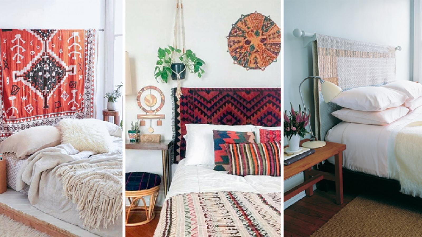 Làm thế nào để biến đầu giường thành điểm nhấn đẹp trong phòng ngủ?