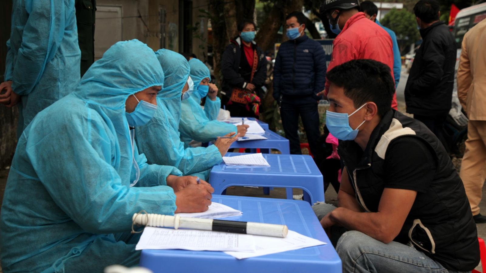 Bộ Y tế phát thông báo khẩn tìm người đến điểm có dịch COVID-19