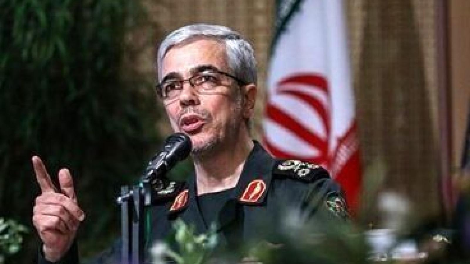 Iran sẵn sàng đối mặt với mọi mối đe dọa