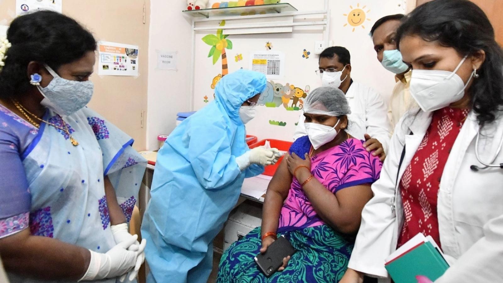 Ấn Độ chuẩn bị triển khai tiêm vaccine Covid-19