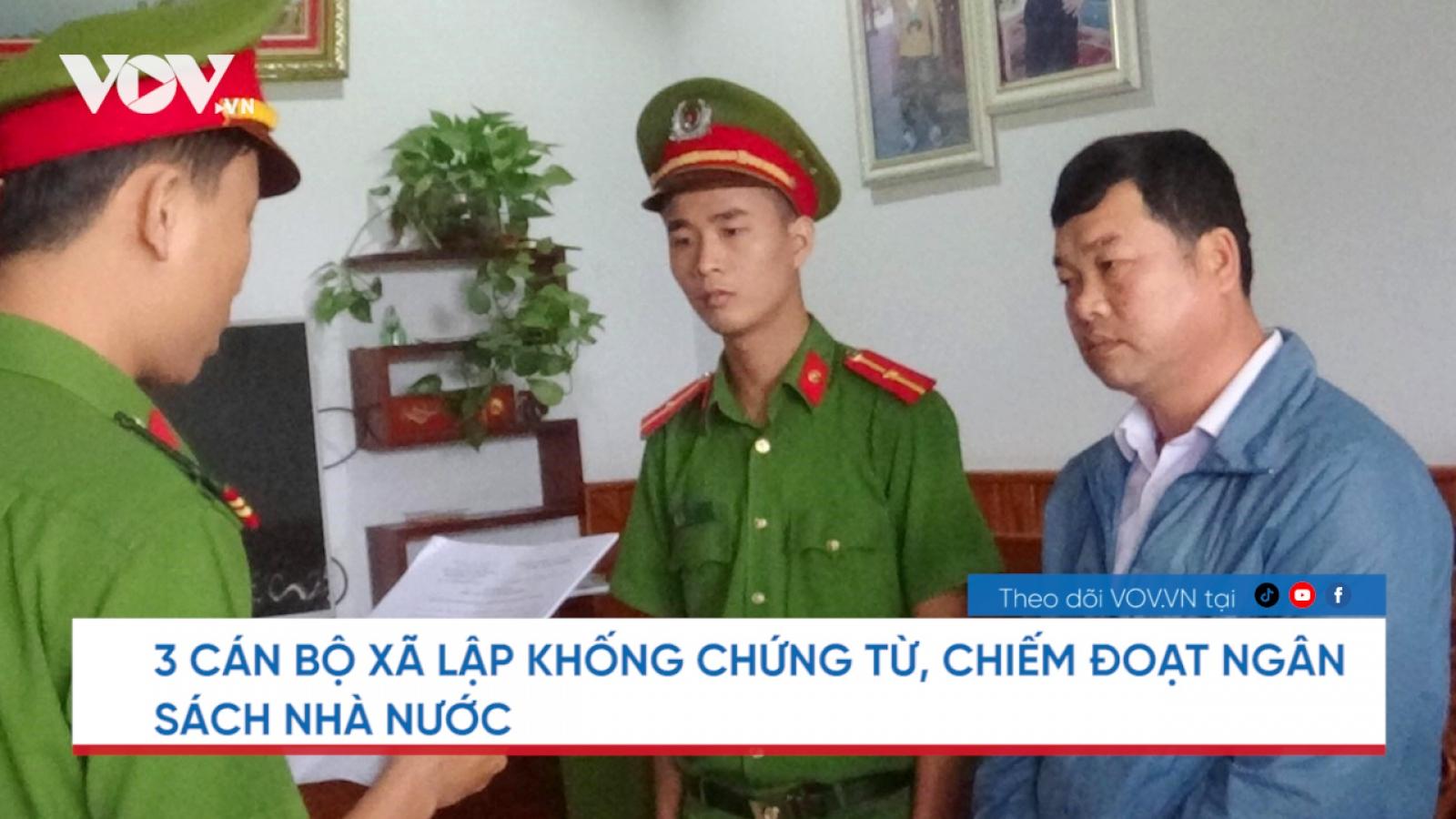 Nóng 24h: Khởi tố 3 cán bộ xã ở Quảng Nam chiếm đoạt tiền ngân sách