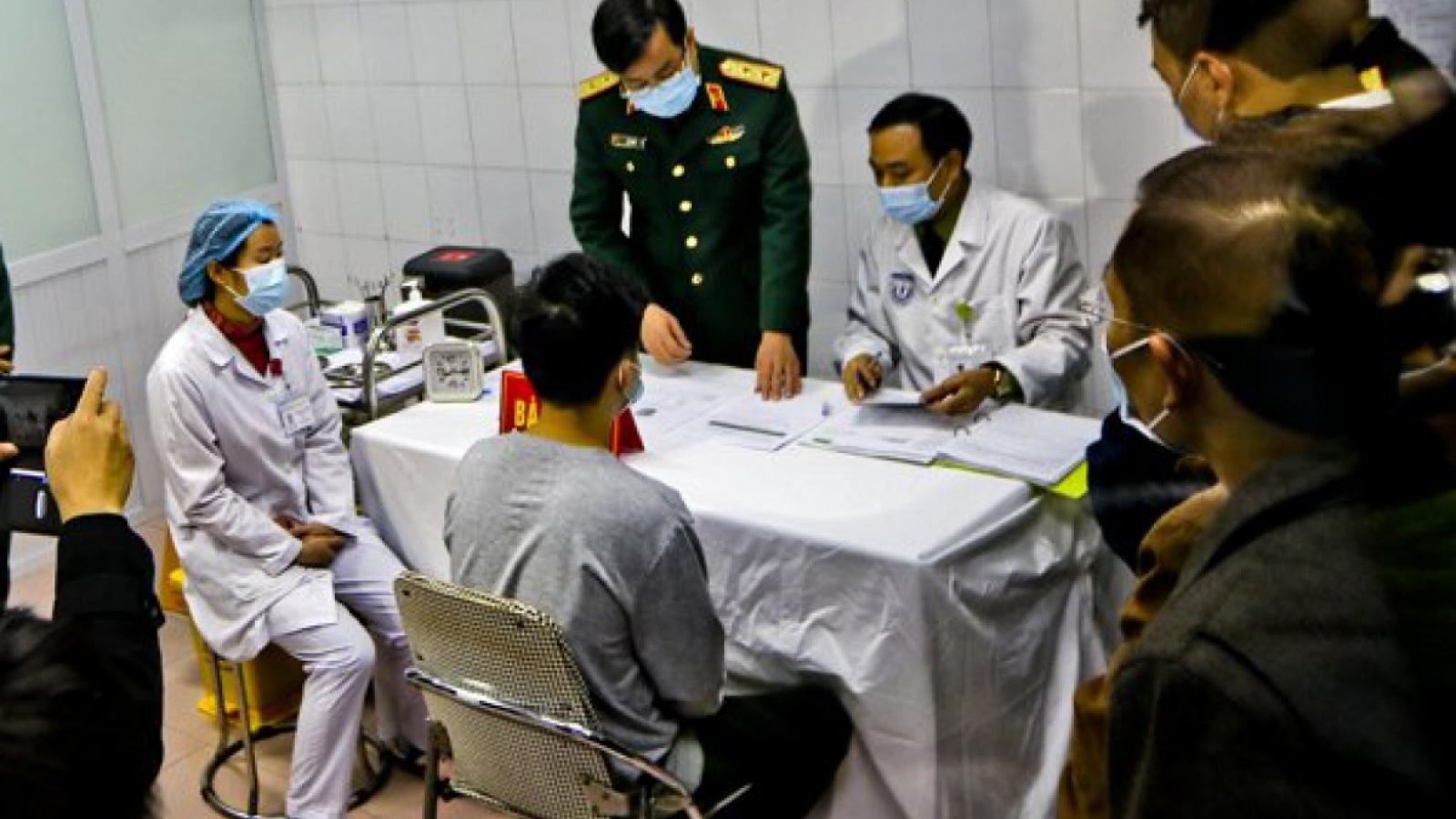 Việt Nam dự kiến thử vaccine COVID-19 thứ 2 trên người trong tháng 1/2021